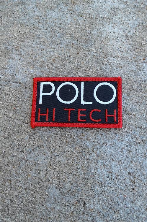 Polo Hi Tech Patch (Black)