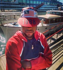 LO LIFE AMERICA (5 PANEL LONG BILL) HAT