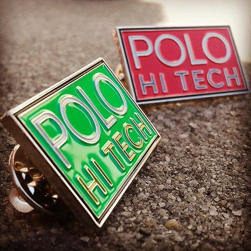 "Polo Hi Tech ""Lapel Pins "" Green& Red"