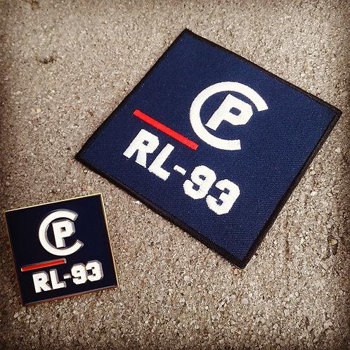 CP RL-93 (Patch & Pin) Navy Blue