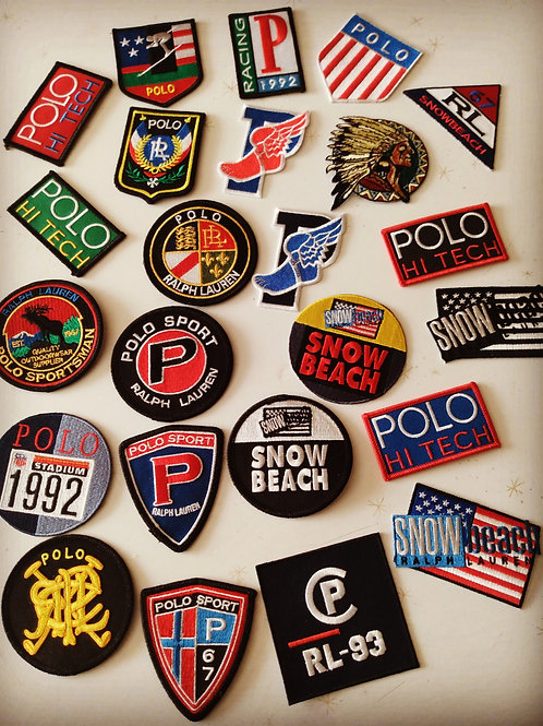 "Vintage ""Patches"" 24 Pieces (Mixed Lot)"