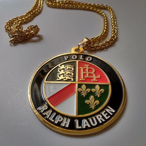 "Polo Cookie""Medallion"" Chain"