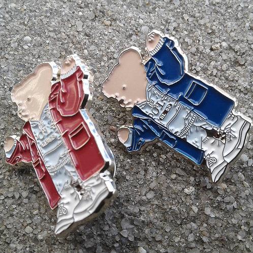 Athletic Bears (Lapel Pins) 2 Piece