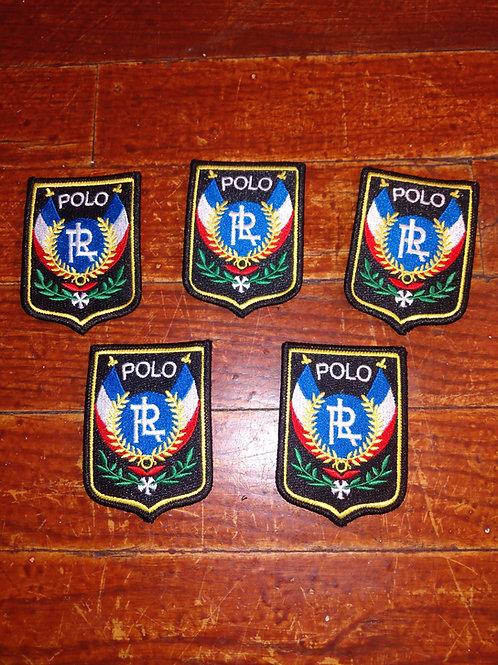 """Vintage Polo """"Uni"""" Patches (5 Piece Set)"""