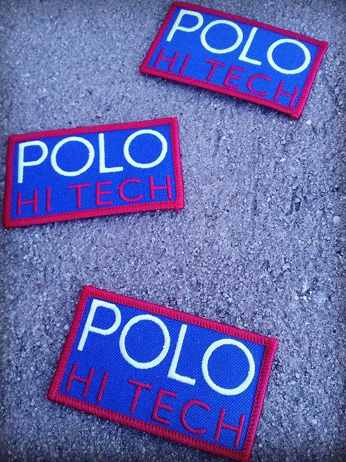 Polo Hi Tech (Patch) Royal Blue