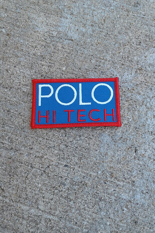 Polo Hi Tech Patch (Royal Blue)