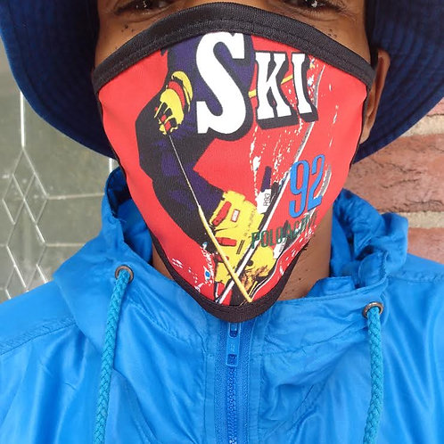 "POLO ""SKI ACTIVE"" FACE MASK"
