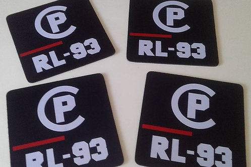 "CP RL-93 ""Mouse Pad"" Blue"