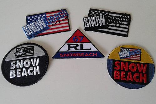 Snow Beach (5) Piece Patch Set