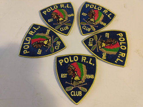 "Polo RL Club ""Chief"" NATIVE PATCH 5 Piece Bundle Set"