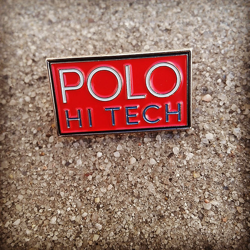 "Polo Hi Tech ""Lapel Pin"" Red"