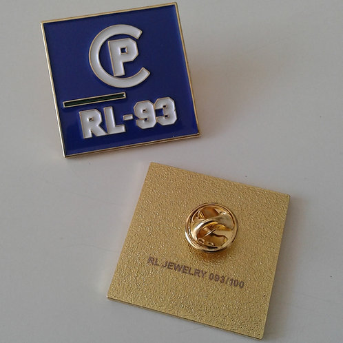 CP RL-93 (Lapen Pin) Royal Blue
