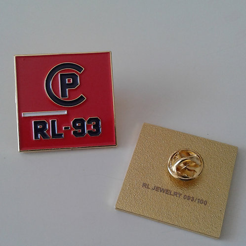 CP RL-93 LAPEL PIN (Orange)