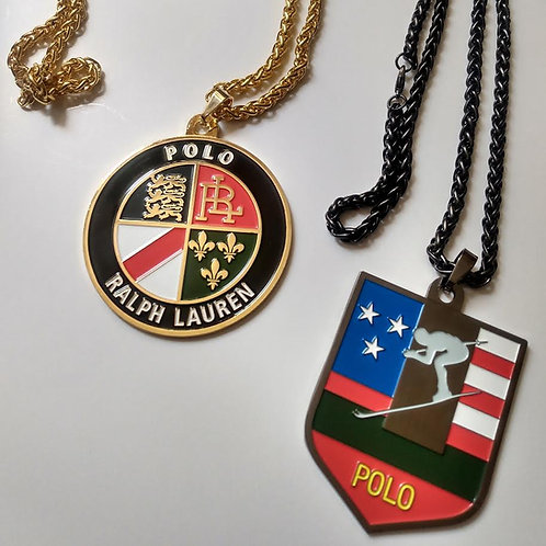 """Polo Cookie and Sui Ski""""Medallion"""" Chains"""