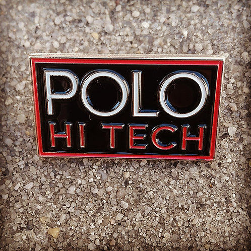 """Polo Hi Tech """"Lapel Pin"""" Black"""