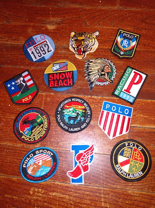 13 Classic Polo Patches (LIMITED TIME OFFER)