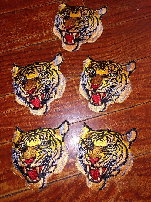 "Vintage Polo Sport ""Tiger"" Patches (5 Piece Set)"
