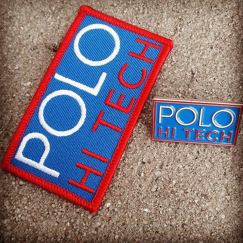Polo Hi Tech (Patch & Pin) Royal Blue Version