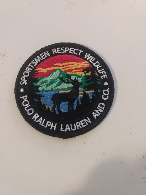 Vintage Polo Ralph Lauren Patch (RESPECT WILDLIFE)