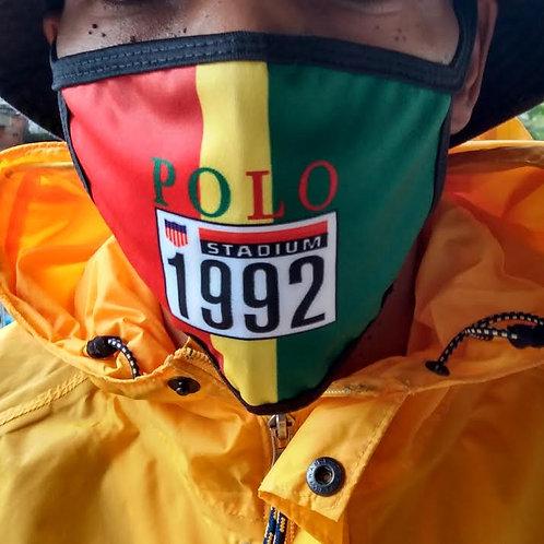 POLO STADIUM 1992 FACE MASK (Rasta)