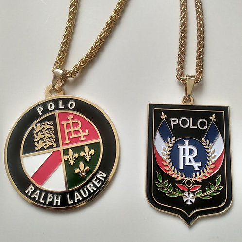 """POLO COOKIE and POLO UNI""""MEDALLION"""" CHAINS"""