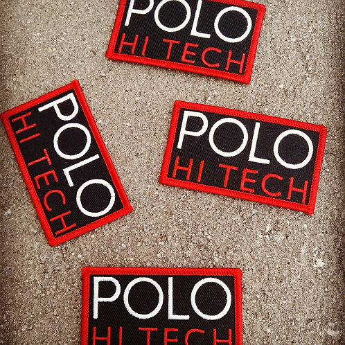 Polo Hi Tech (Patch) Black
