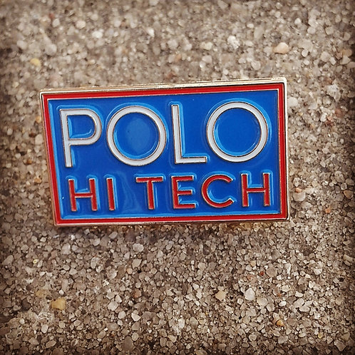 "Polo Hi Tech ""Lapel Pin"" Royal Blue"