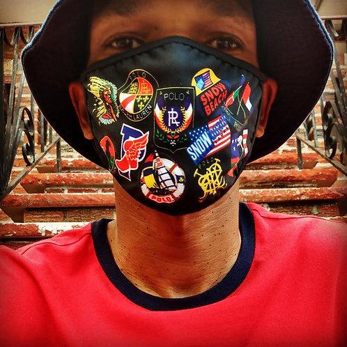(Black) OG Polo Face Mask