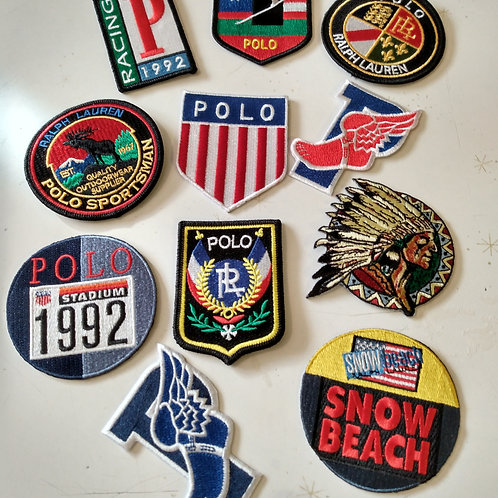 "Vintage ""Patches"" 10 Piece Set"