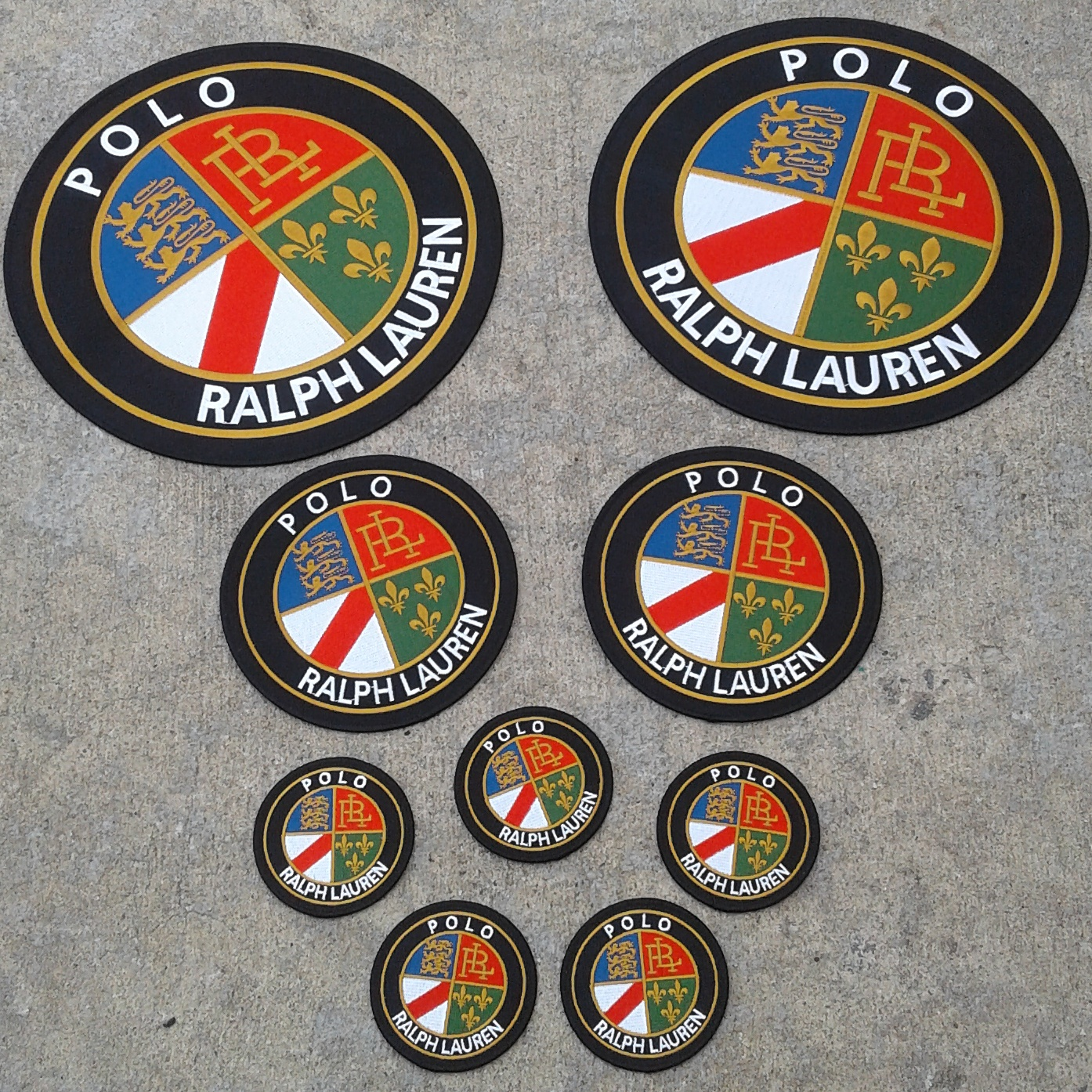 Polo Cookie Patches