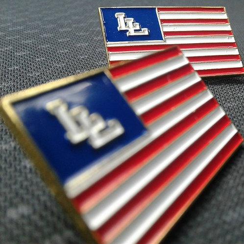 "Lo Life ""America"" Lapel Pin"