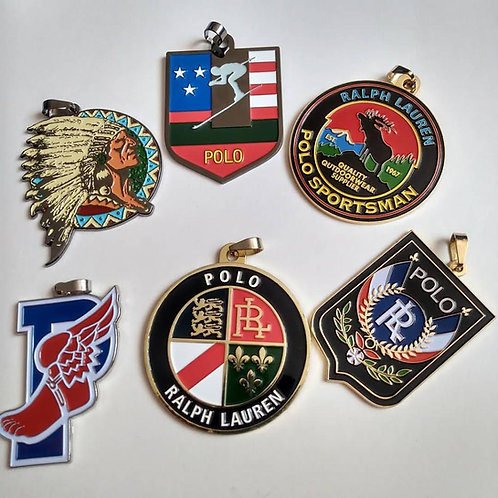 6 Polo Medallions (Classics)