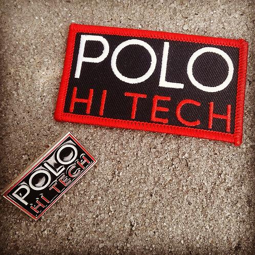 Polo Hi Tech (Patch & Pin) Black Version