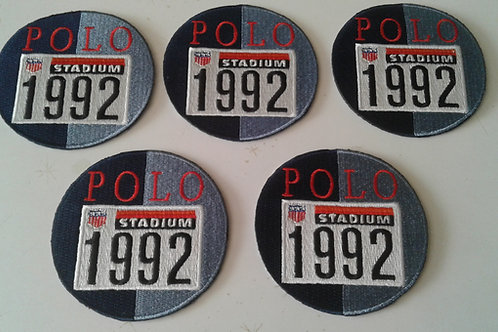 "Vintage ""STADIUM 1992"" 5 PIECE PATCH SET"