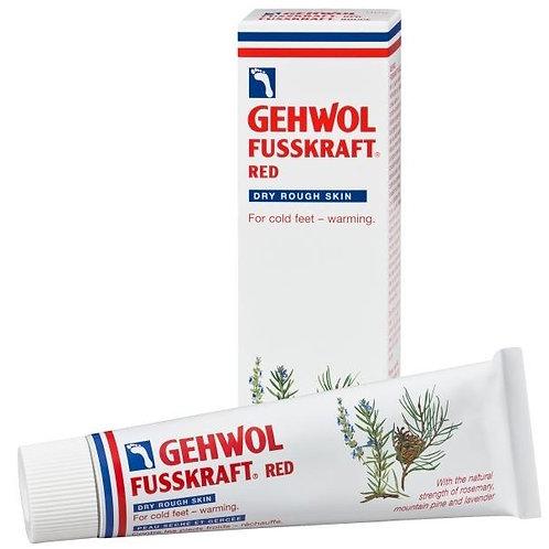 Gehwol Fusskraft Rouge | Pieds secs, froids ou endoloris