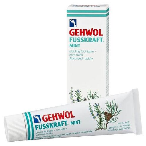Gehwol Fusskraft rafraîchissant à la menthe | Pieds fatigués ou endoloris