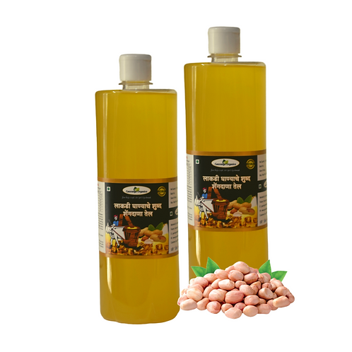COLD PRESSED GROUNDNUT OIL (1 L)