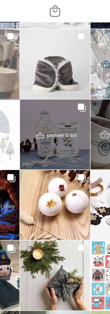 Gestion de contenu sur instagram