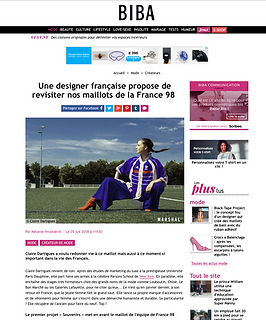 Article Biba Maillot de Football