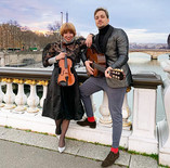 Claire Dartigues et Lucas Jacq- Imagine sur le Pont Alexandre III - Paris