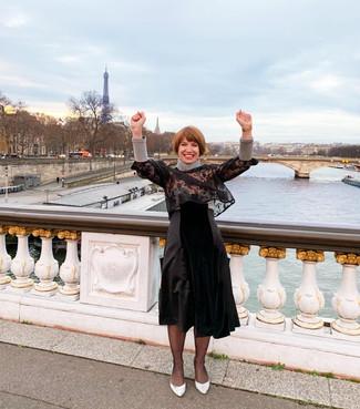 Claire Dartigues - Imagine sur le Pont Alexandre III - Paris