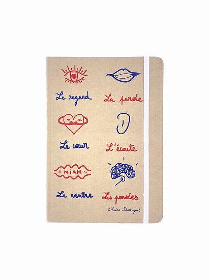 """Carnet """"Des émotions"""""""