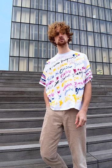 Tee-shirt O x CD (Pièce Unique)