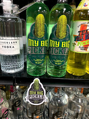Find My Big Pickle Vodka Here