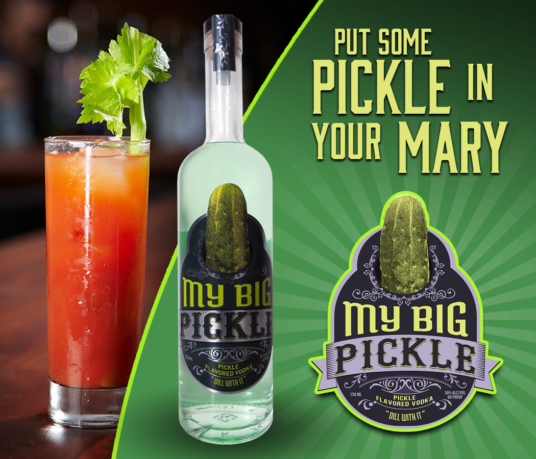 Pickle Vodka Bloody Mary