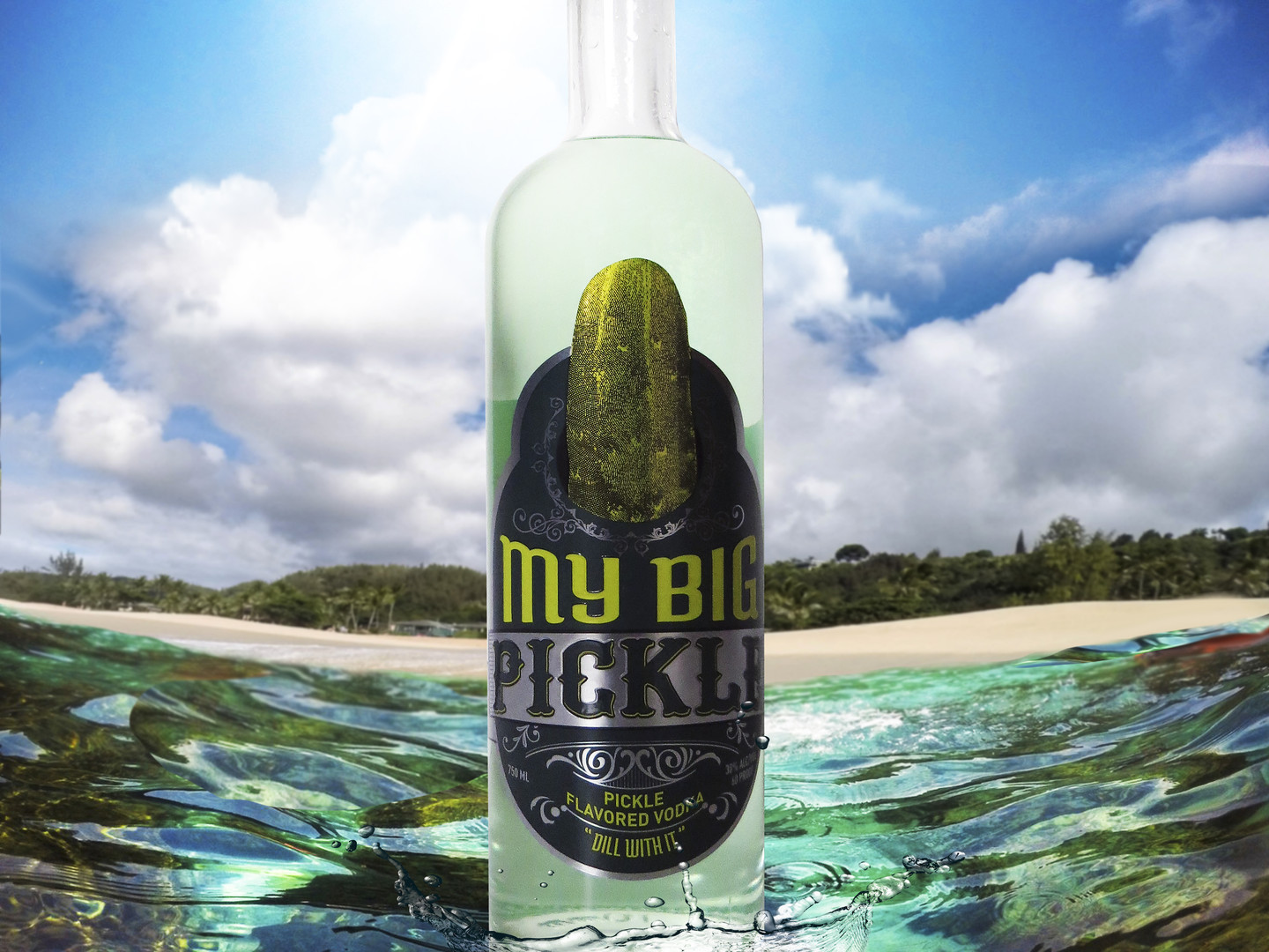 My Big Pickle Vodka