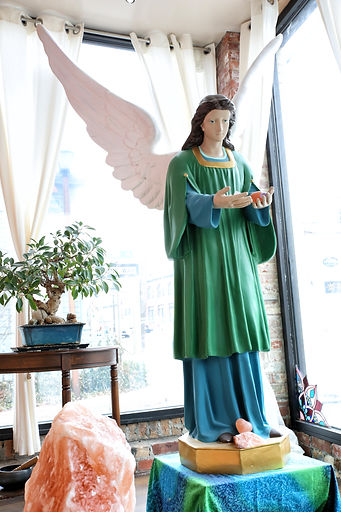 Archangel Raphael at The Healin Center at Port  Jeff Salt Cave