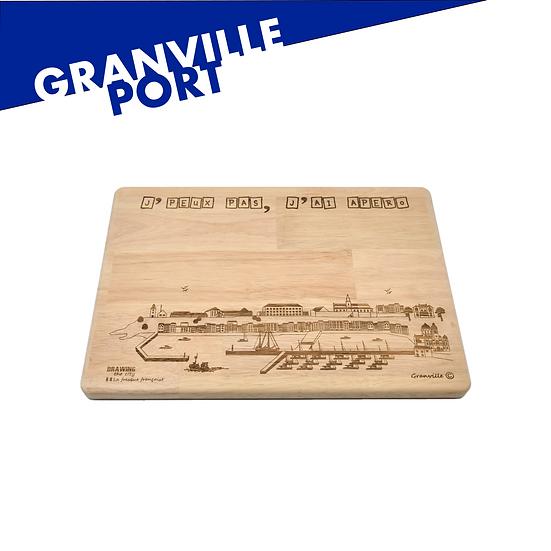 Granville - Port - grande planche apéro