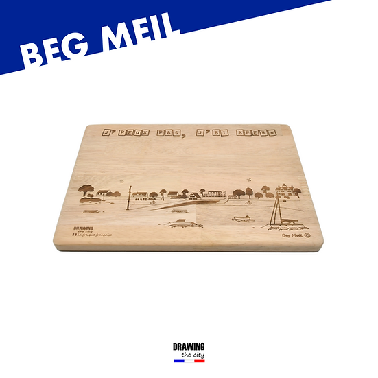 Beg Meil - grande planche apéro