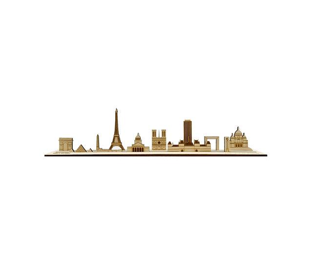 Paris - Skyline 3D